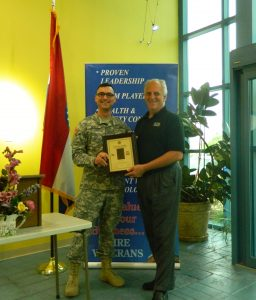 ELTEK, Flag of Freedom Award, Ceremony